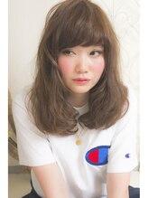 1001ミル ヘアーメイク プラス カフェ(1001 mille hairmake+cafe)ベージュカラーで大人ロブスタイル☆[1001mille]