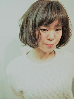 ヘアーデザインサロン ベル(hair design salon Belle)の写真/パーマ初心者さんも安心しておまかせできる。サロンでの仕上がりが自分でもキープできるBelleのパーマ♪