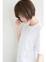 【miles 松本弘大】大人かわいいひし形シルエットショートボブ