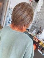 7129インナーカラーオレンジ