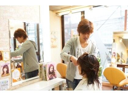 ヘアスタジオ アクティブ(Hair studio active)の写真