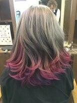 ヘアーメイク プリュム(Hair make Plume)グラデーション×ビビットカラー