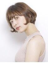ピークアブー アヴェダ GINZA SIX(PEEK-A-BOO AVEDA)【New(8月)】癖毛を生かした丸みボブ
