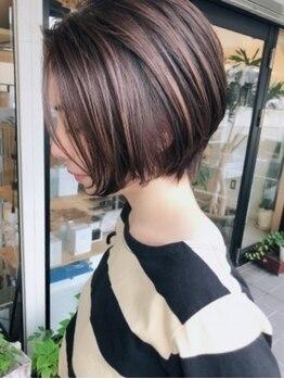 ヘアーサロン マメキチ(Hair Salon mamekichi)の写真/ハンサムショートもお手のもの♪トレンド感のある似合わせデザインはアレンジも自由自在◎自分好みに変身☆