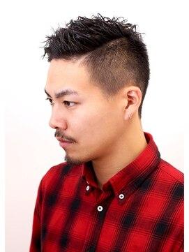 【Digz hair:原宿】ワイルドツイストショート(上地)