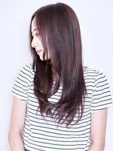 髪質改善出来て柔らかさとツヤのある自然なストレートになる♪【BENCh新宿店】【イルミナカラ―】