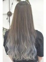 ヘアーサロン エール 原宿(hair salon ailes)(ailes原宿)style364 デザインカラー☆ブルージュグラデ