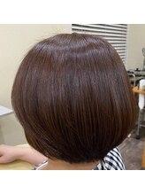 ルシア ヘア(Lucia hair)酸熱髪質改善酸熱トリートメントグラデーションボブ