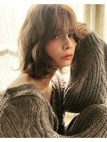 マージュ ギンザ(marju GINZA)モテ髪ショコラグレージュ×フェアリーロブ