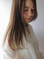 ルッソ(RUSSO)【RUSSO 内山】イルミナカラー☆ツヤ髪ナチュラル