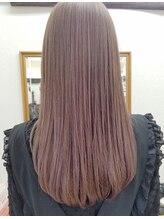 プリーム ヘアー(Pleame hair)アプリエカラー×ロング