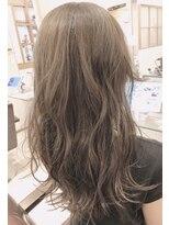 リリー ヘアーデザイン(Lilly hair design)【勝田台Lilly昼間】オリーブグレージュ