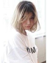 《Agu hair》小顔かわいいひし形ワンカールボブ