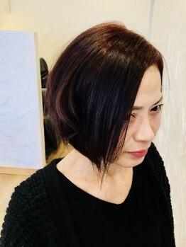 ライセンスの写真/【戸畑/新規様特典20%OFF】髪質やクセに合わせたカット◇ドライヤーするだけでまとまりのあるスタイルに♪