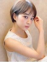 アグ ヘアー ドレス 喜久田店(Agu hair dress)《Agu hair》小顔かわいい耳かけショート