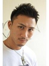 サニーズ バーバー(Sunny's barber)アップバングワイルド風モヒカン