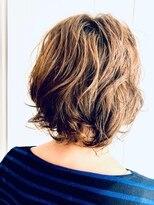 ヘアスピリッツアンクス(Hair Spirit anx)エアリー感をまとったカジュアルボブ
