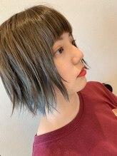 ストリング ヘアー(string hair)インナーカラー+ハイライトで1ランク上のオシャレを☆