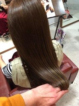 ルミアン(lumian)の写真/[天王寺/寺田町駅すぐ]気になるクセ・うねりを髪質改善でナチュラルできれいなヘアスタイルに♪