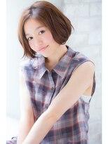 ジョエミバイアンアミ(joemi by Un ami)【joemi】笑顔になれる☆小顔センターパートボブ(大島)