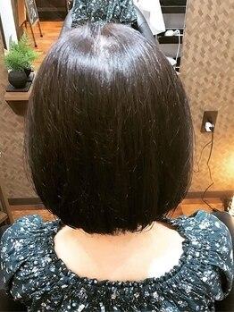 紡樹の写真/【下松】髪質改善エンジェリックケアとアナタに似合わせた再現性の高いカットのセットメニューが人気◎
