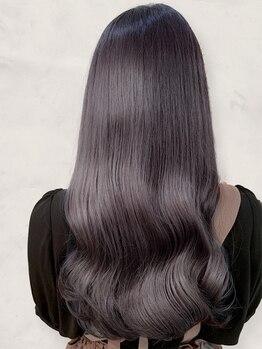"""ラピセット(HAIR PRODUCE Lapset)の写真/""""髪に潤い""""が欲しい大人女性から好評のラピセット【髪質改善カラー】で、求めていた艶髪に♪"""