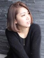 ヘアーデザイン スロープ 稲毛海岸店(Hair Design Slope)前髪かきあげ王道ボブ