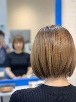 スローライフヘアーデザインアンドスパラウンジ(Slow life Hair design spa lounge)ナチュラルショートボブ