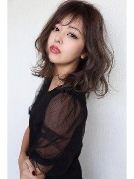 リジェール 黒川店【リジェール黒川店】ダークグレー×柔らかふわミディ