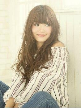 アドラーブル 駅南店(adorable)の写真/女性らしさが際立つパーマstyle☆髪質に合わせてナチュラルくせ毛風もリッジ感のあるウェーブも全部叶う☆