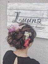 ルーナ ヘアラウンジ(Luuna hair lounge)生花アレンジ