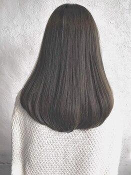 コルテ グラス 倉敷駅前店(CoRte. grass)の写真/素材美をとことん活かし、365日キレイな髪を保つ。貴方だけの薬剤・ダメージレスの施術で褒められる美髪に