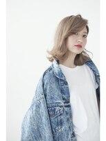 センスヘア(SENSE Hair)外ハネミディアム☆
