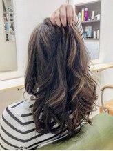 ヘアートープ ウニコ(life and hair design Hair Tope unico)《Hair Tope unico》外国人風カラースタイル