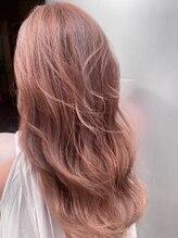 グランツヘアデザイン 四谷(GRANZ hair design)透明感コーラルピンク