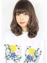 ヘアサロンガリカアオヤマ(hair salon Gallica aoyama)☆『 グレージュカラー & 毛束感 』ワンサイド☆セミウェット