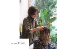 ヘアサロン トラヴィス(hair salon Travis)の雰囲気(全員が資格有りヘッドエステ人気メニューです/髪質改善/錦糸町)