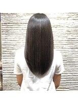 ビス ヘア アンド ビューティー 西新井店(Vis Hair&Beauty)縮毛矯正/艶感ストレート/透明感/ナチュラル/ココアブラウン
