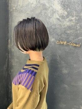 セントラル ヴァンクラウド(CENTRAL vc)の写真/髪質や骨格に合わせカット技法をコントロール!NY仕込みのオーダーメイドカットは似合うStyle が長続き♪