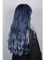 Blue gradation