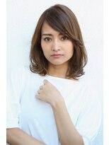 ヘアーメイク リアン 新田辺店(Hair Make REAN)◆REAN 京田辺/新田辺◆2wayバングのセミディアムスタイル
