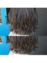 ヘアアンドビューティー クローバー(Hair&Beauty Clover)highlight × gray
