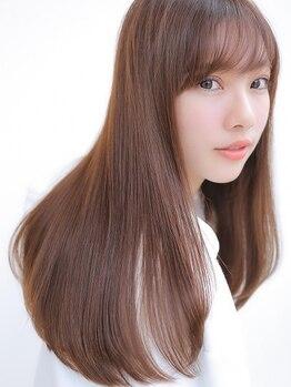 アグ ヘアー プラウド ソコラ若葉台店(Agu hair proud)の写真/髪が素直になる!シルクの様に柔らかな極上ストレート・縮毛矯正で理想のフォルムへ☆