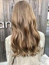 ヘアー デザイン グランツ(Hair Design Glanz)ミルクティーベージュ♪