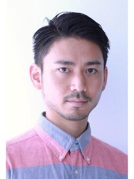 メンズヘアスタイルベリーショートの男前クラシカルショート 【青山 表参道駅】