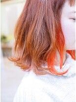 ♪Coni♪Vividオレンジインナーカラー