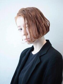 オレオココ(OREO.coco)の写真/【カット¥2900】コンパクトなシルエットが今っぽい☆こなれ感たっぷりのミニボブで大人可愛いStyleに♪