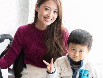 ジャップインターナショナルエスサロン(JAP international S SALON)の写真/《キッズスペース有》ガラス越しにお子様の様子を見ながら施術が受けられる◎ご予約の際にお伝え下さい♪
