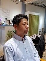 【ワイルドツーブロックビジネステクノサイドパートショート】95