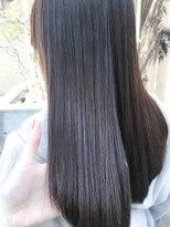 ノル(nol hair&spa)*ナチュラル美髪ストレートパーマ*